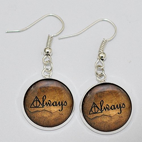 Deathly Hallows Earrings Earrings harry Jewelry product image