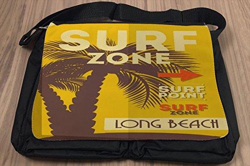 Borsa Tracolla Tour Mondiale Long Beach Stampato