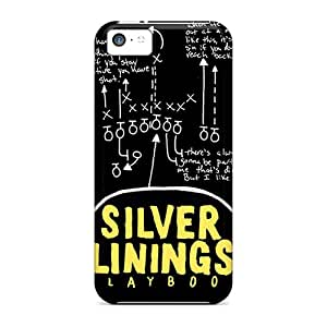 Snap-on Case Designed For Iphone 5c- Pat And Tiffany Silver Linings Playbook