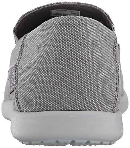 2 Hombre Grey Santa Charcoal Zapatillas Lona Luxe M Cruz Light Gris Crocs de qHZx78E8n