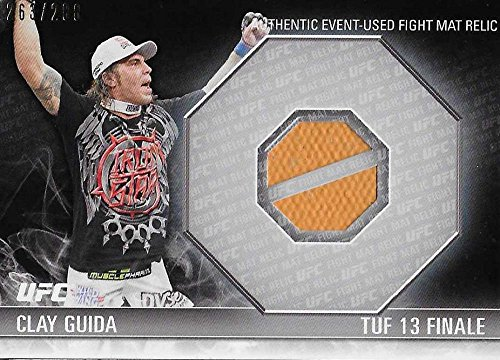2012 Topps Knockout Fight Mat Relics #FM-CG Clay Guida NM-MT MEM 263/288