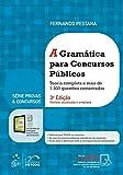 capa de A Gramática Para Concursos Públicos. Teoria Completa e Mais de 1.300 Questões Comentadas