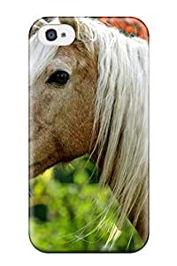 XoxvTrW2011qZxLl Tpu Phone Case With Fashionable Look For Iphone 4/4s - Horse