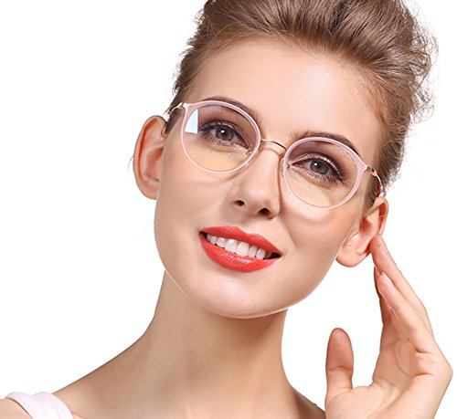 d5af0e0611 SOOLALA Unisex Vintage Inspired Round Circle Reading Glasses Customized  Strengths