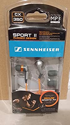 Sennheiser CX380 Sport Series Noise Isolating Earphones