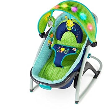 Bright Starts Light up Lagoon 2-in-1 Delight and Dream Rocker