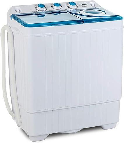 KUPPET Compact Twin Tub Portable Mini Washing