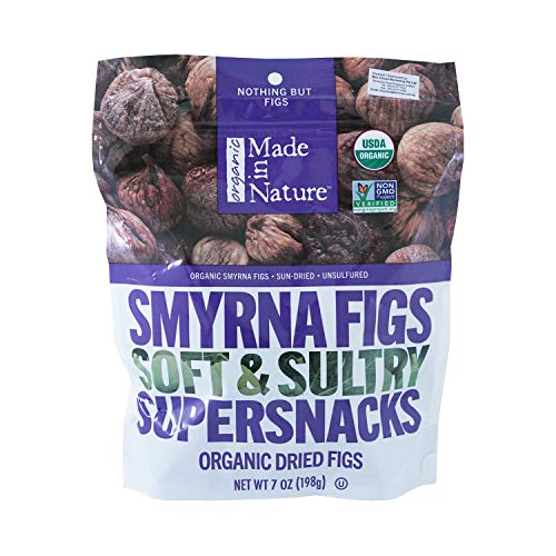 (MADE IN NATURE Organic Dried Figs Smyrna, 7 OZ)