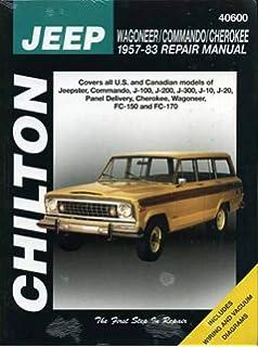 Jeep Wagoneer J Series 72 91 Haynes Repair Manuals Haynes