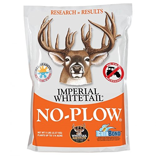 Whitetail Institute No Plow (Whitetail Institute No Plow Seed, White, 5)