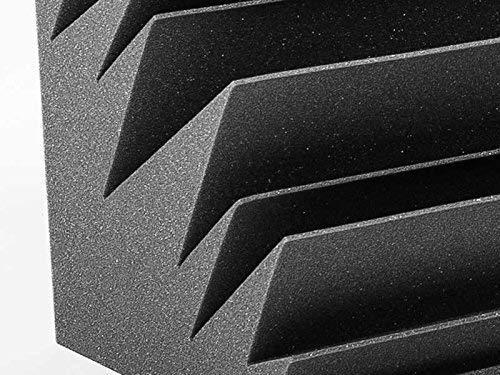 Set Bass Trap de 2 piezas de 60x30x30 cm. Color gris antracita. Espuma acústica de alta absorción para bajas frecuencias.: Amazon.es: Instrumentos musicales