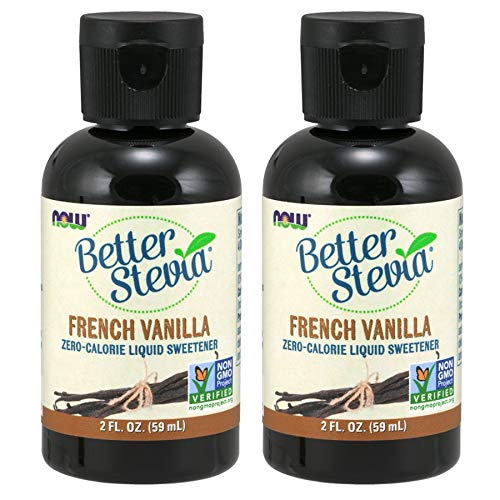Now Foods BetterStevia Liquid Extract (French Vanilla) - 2 oz. 2 Pack