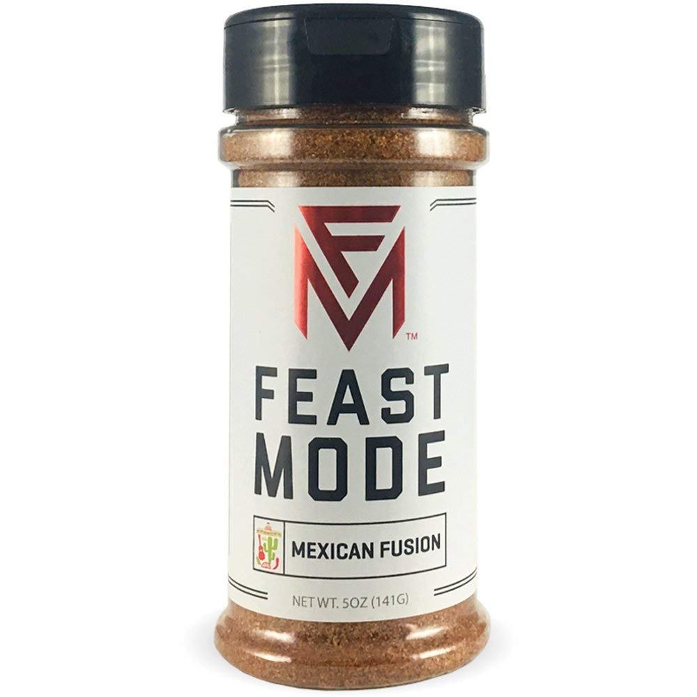 Mexican - Feast Mode Flavors - Low Sodium, No MSG, Gluten Free, All Natural, Meal Prep Seasoning , Healthy , Chile Powder , Cumin , Oregano