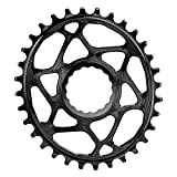 Absoluta Race Face Oval Negro Cinch Boost Direct Mount tracción Plato