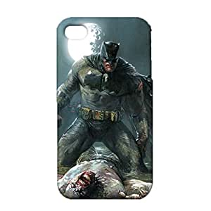 3D Cartoon Betman Phone Case, Fantastic Design DC Comic Betman Cover Case for IPhone 4 4s 3D Image Design