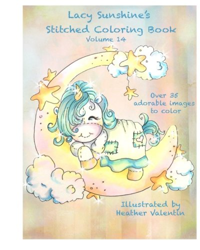 Lacy Sunshine's Stitched Coloring Book Volume 14 (Lacy Sunshine's Coloring Books)