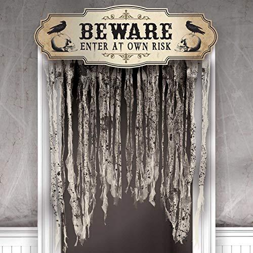 Halloween Party Entrance (Amscan Dreadful Boneyard Halloween Party