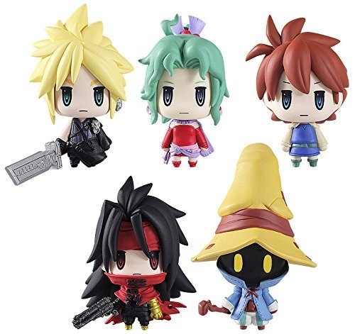 Final Fantasy Series 2 Mini Trading Arts Figures Set of 6