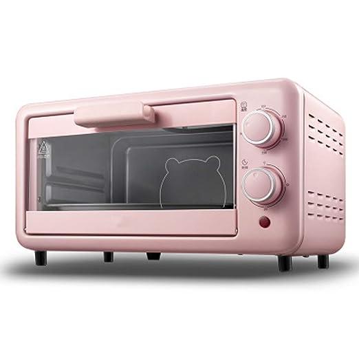 Mini horno eléctrico, múltiples funciones de cocción, control de ...