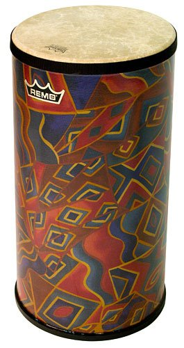 Remo TUFESM13 Festival 15'' x 6'' Fabric Twining's Finish Tubano by Remo