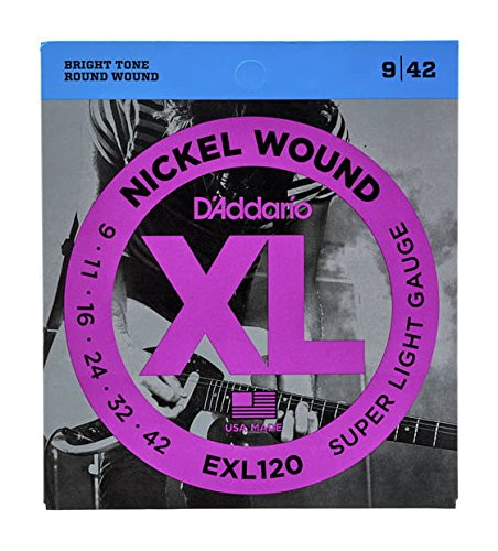 Amazon.com: CUERDAS GUITARRA ELECTRICA - D´addario (EXL/120) Super ...