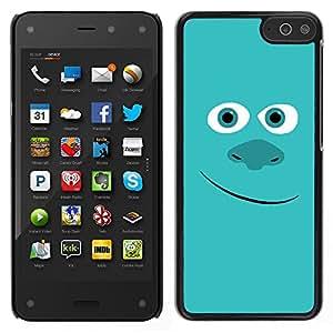 Design for Girls Plastic Cover Case FOR Amazon Fire Phone Friendly Blue Monster OBBA