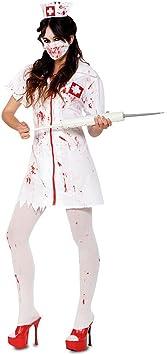 Disfraz de Enfermera Zombie para mujer: Amazon.es: Juguetes y ...