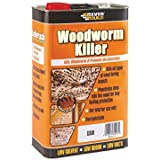Everbuild EVBLJWORM05 5 Litre Woodworm Killer by Everbuild