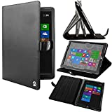 VG Black Arthur Detachable Stand Carrying Case for Microsoft Surface Pro 3
