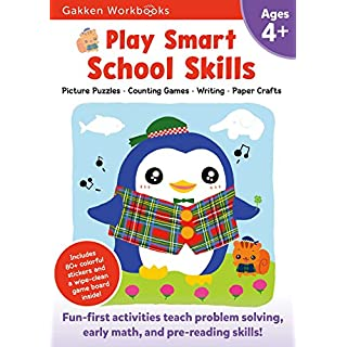 Play Smart School Skills Age 4+: At-home Activity Workbook