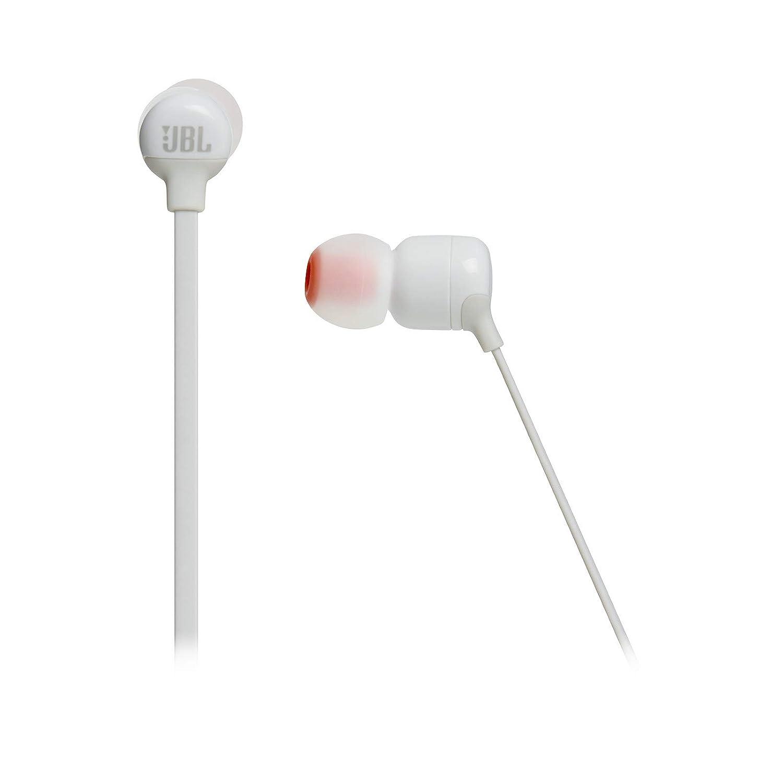 JBL T110BT - Auriculares inalámbricos instáurales con Pure Bass y Mando a Distancia con micrófono, Color Blanco: Amazon.es: Electrónica