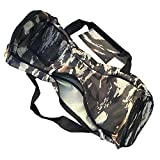 Camouflage Nylon Fabric Electric Unicycle Handheld Bag for 6.5 Inch Portable 2 Wheels Self Balancing Smart Board Scooter Carry Bag by Autolizer (TM) (Camo Tan)