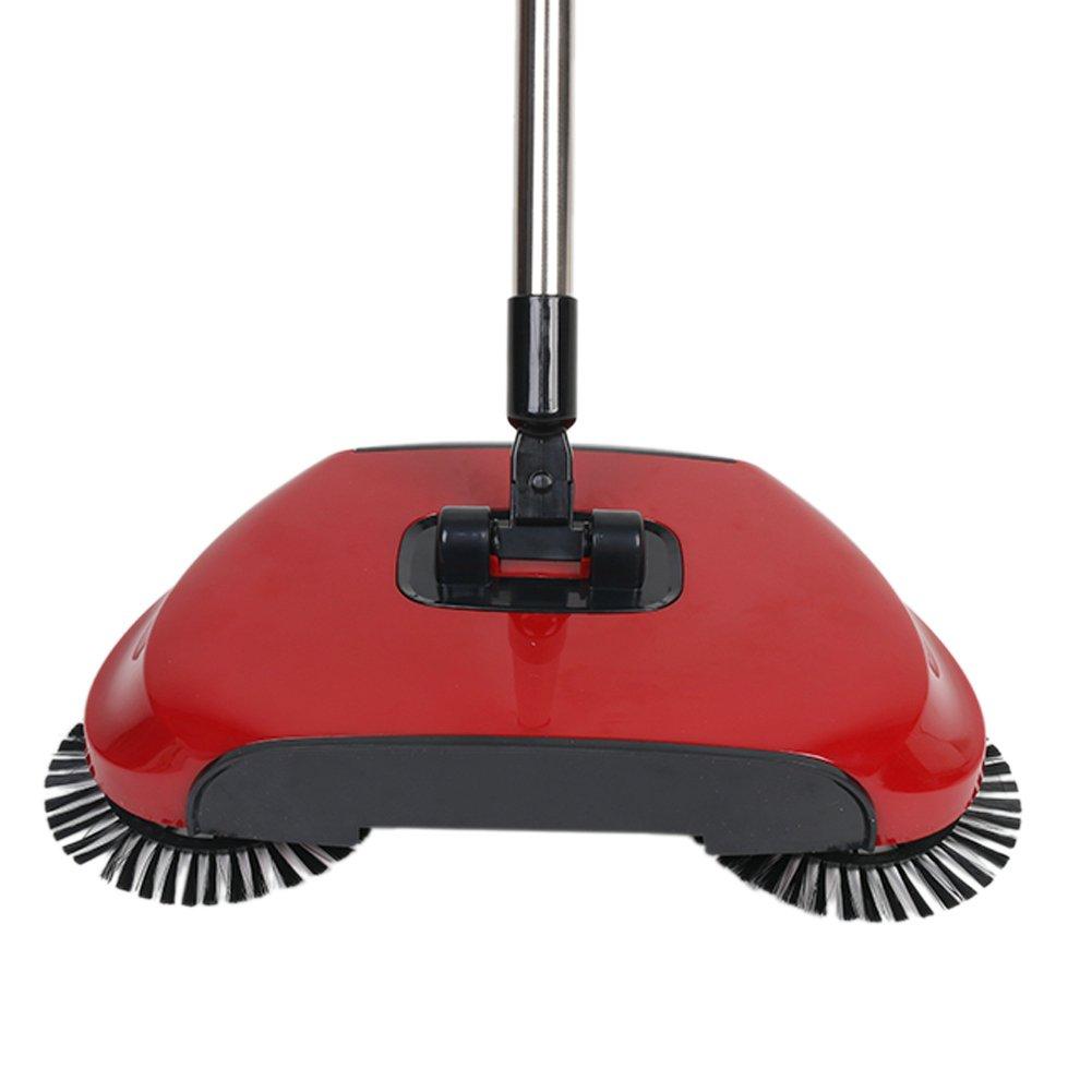 360 Rotary Magic Telescopico Sweeper Manuale Floor Dust Sweeper 2017 Nuovo Arrivo Non Elettrico Mano Spingere ABS Resina Plastica Verde,Lunghezza Totale 130CM (blu) Senza marca/Generico