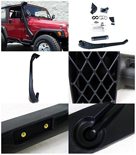 99-06 Jeep Wrangler TJ 4.0L L6 Petrol Black ABS Air Ram Intake Snorkel System