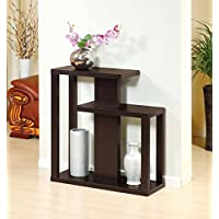 13792 Smart Home Red Cocoa Novelty Shelf Design Console Table