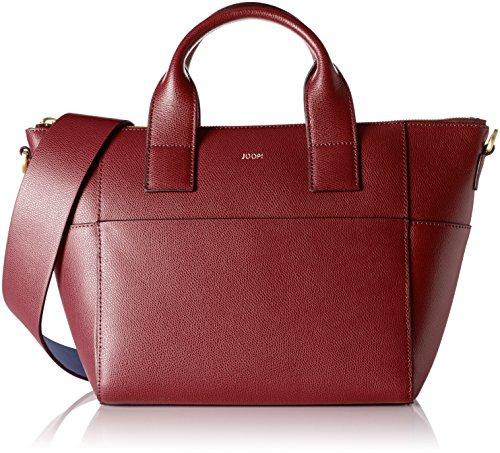 JOOP Grano Colorblocking Helena Handbag Mhz, Borsa a mano Donna Rot (Dark Red)