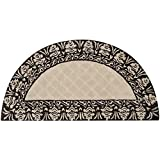 Safavieh Total Performance Collection TLP755B Ivory and Chocolate Hearth, 2' x 4'