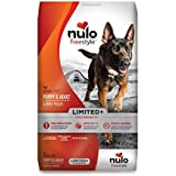 Nulo All Natural Dog Food: Freestyle Limited Plus Grain Free Puppy & Adult Dry Dog Food - Limited Ingredient Diet Digestive & Immune Health - Allergy Sensitive Non GMO Turkey Recipe - 22 lb Bag