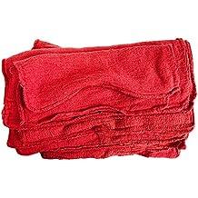 Elección del Detailer Piel Auténtica Gamuza 11, Bolsa, Rojo