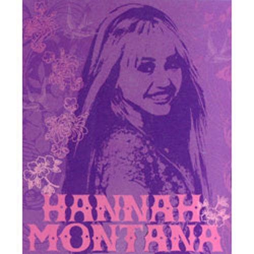 Disneys Hannah Montana - FLEECE BLANKET - Soft Girls Room Decor (Hannah Montana Blanket)