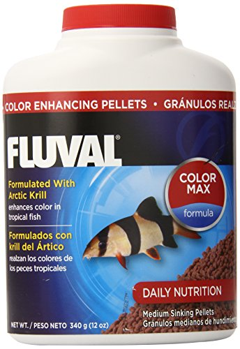 340gm Fluval Color Enhancing Pellets Fish Food, 12-Ounce - Hagen Fish Pellets