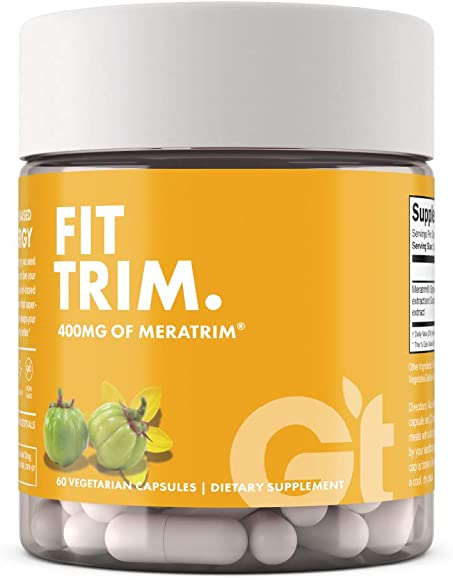Genesis Today Fit Trim Weight Loss Supplement, 400 MG Meratrim, 60 Capsules