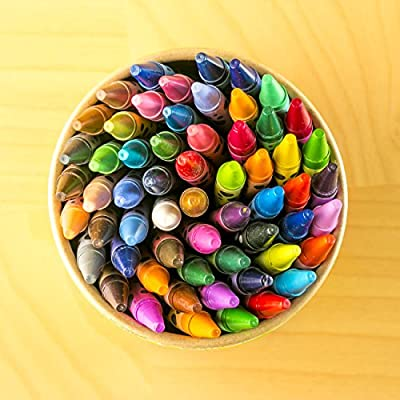 ZenZoi 60-Piece Scented Crayon Box with Coloring E-Book: Office Products