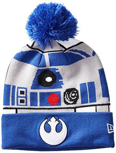 New Era Cap Men's Galactic Biggie R2D2 OTC, Gray/Blue, One Size (R2d2 Hat)