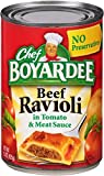 Chef Boyardee Beef Ravioli, 15-Ounce (Pack of 24)