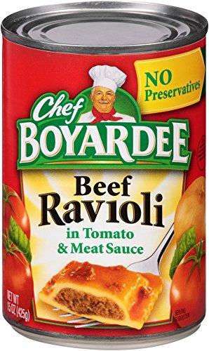 Chef Boyardee Beef Ravioli, 15-Ounce (Pack of 24)
