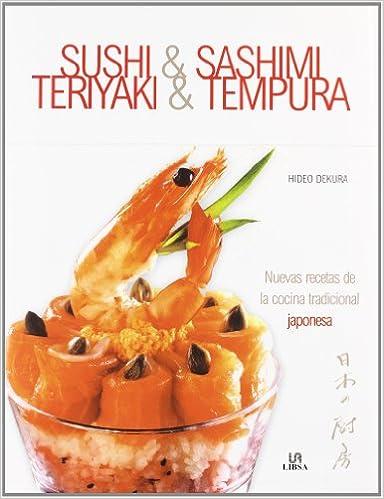 Recetas De Cocina Pdf   Descargas Libros Gratis Pdf Sushi Sashimi Teriyaki Y Tempura