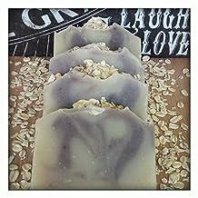 Cocoa Butter & Coconut Oil Soap~ Oatmeal Lavender