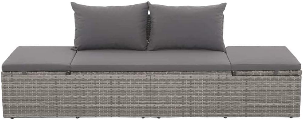 0,9/ml gris uni chaise longue Unbekannt /Étoile Housse de protection pour meubles de jardin 454803 200/x 75/x 40/cm