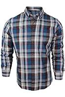 Ben Sherman Men's Blue Red Plaid Casual Shirt